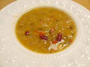 ガンボスープ オクラ入野菜スープ
